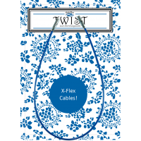 Леска X-FLEX blue S к металлическим спицам ChiaoGoo