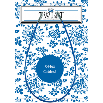 Леска S к металлическим спицам ChiaoGoo X-FLEX blue