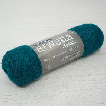 Filcolana Arwetta Classic, 50г/210м, цвет 202 Teal