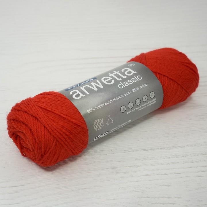 Filcolana Arwetta Classic цвет 138 Geranium Red