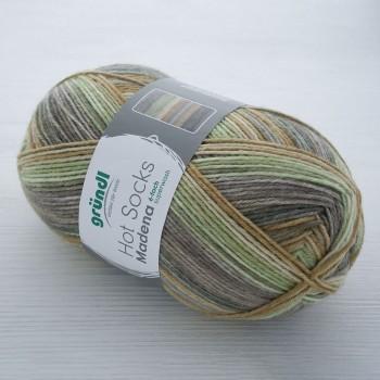 Gruendl Hot Socks Madena 6-fach цвет 04 nut-mix