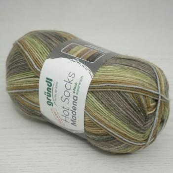 Gruendl Hot Socks Madena 4-fach цвет 04 nut-mix