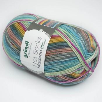 Gruendl Hot Socks Madena 6-fach цвет 05 soft ice-mix