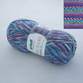 Gruendl Hot Socks Rubin цвет 01 lila-blau multicolor