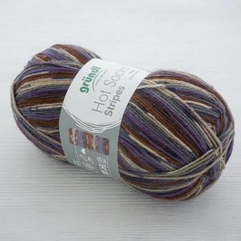 Gruendl Hot Socks Stripes цвет 614