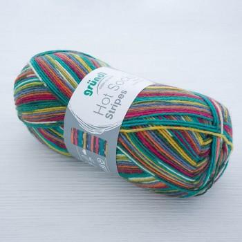 Gruendl Hot Socks Stripes цвет 618