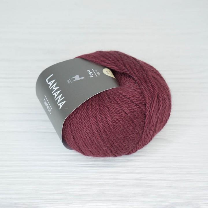 Lamana Cusco цвет 16 бордовый
