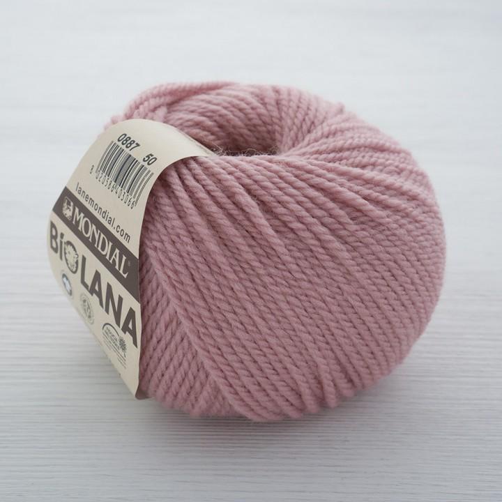 Mondial BIO LANA цвет 887 розовый