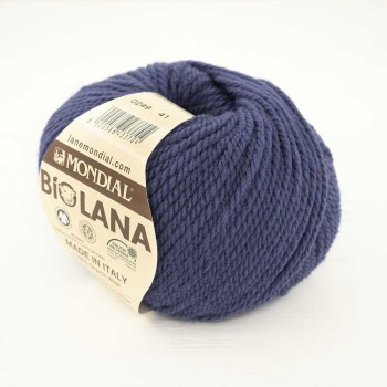 Mondial BIO LANA цвет 249 синий