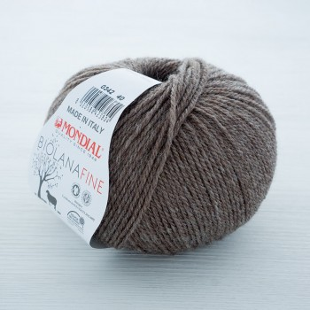 Mondial BIO LANA FINE цвет 0342 коричневый