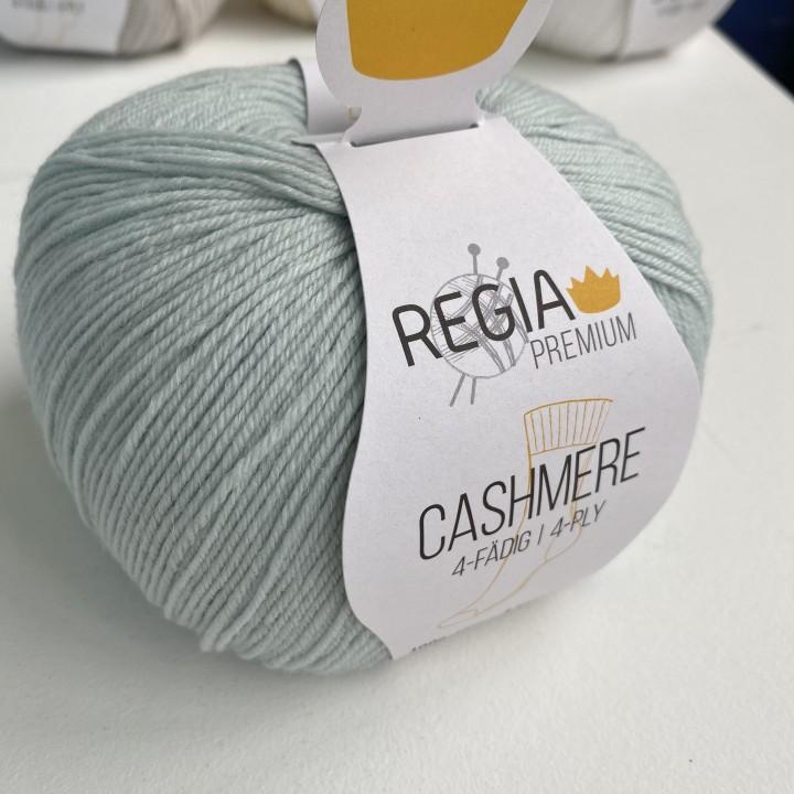 Regia Cashmere цвет 62 св.мята